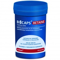 Formeds BICAPS BETAINE - Betaina HCL - 60 kapsułek
