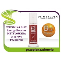 Kenay Dr Mercola Witamina B12 Energy Booster Metylokobalamina 25ml Spray - suplement diety