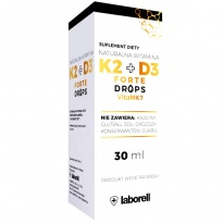 Laborell Witamina K-2 + D-3 FORTE krople K2 + D3 30 ml