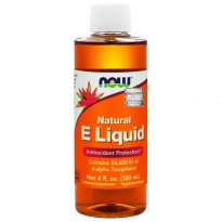NOW Foods WITAMINA E naturalna W PŁYNIE Natural E Liquid 120 ml